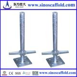 Carbon Steel Galvanized Adjustable Hollow Jack Base