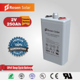 2V 250ah Solar Gel Opzv Tubular Plate Battery Price