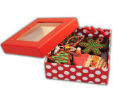 Safe Printing Cookies Display Box with Window