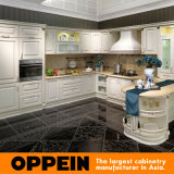 Oppein Golden Line White Lacquer Euro Kitchen Cupboard (OP14-024)