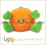 Plush Orange Monster Stuffed Toys Soft Children Doll
