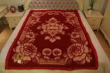 100% Tibet-Sheep Wool/ Jacquard Blankets/ Fabric/ Textile