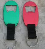 Aluminum Bottle Opener with Lanyard