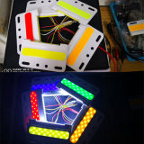 Truck Turning Lights 24V COB Lamp White Red Green Yellow Blue Color Truck Side Warning Bulb Lorry Strobe Signal LED Light