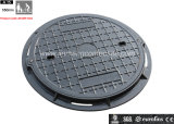 En124 Polymer Inspection Manhole Cover/ Round Gully Inspection Manhole Cover with SGS