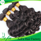 Natural Color Fashion Style Remy Human Virgin Hair Extensions
