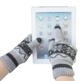 Men's Fashion Winter Wool Knitted Touch Screen Magic Gloves (YKY5453)