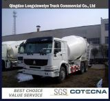 HOWO Concrete Mixer Truck with 8-10m3 Mixer Tank