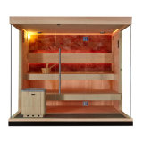 Luxury Home New Big Sexs Premium 4 Person Dry Sauna Room Set