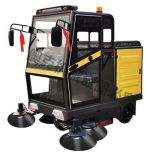 Automatic Vacuum Electric Floor Sweeper Ride on Street Sweeper Car