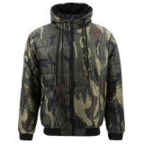With High Quality Winter Warm Heavy Nylon Puffer Bubble Reversible Camo Ultra Light Weight Quilted Cotton Padded Padding Down Coats Parka Hooded Jacket For Men