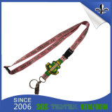 Fashion Sublimation Printed Lanyard with Metal Hook