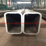 Hot Finished and Cold Drawn BS Standard En10210 En 10219 Rhs Square and Rectangular Steel Pipe S235jr S275jr S355jr S355j0 S355j2 S355nh Steel Tube
