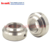 DIN Standard Round Nuts with Drilled Holes Set Pin Holes