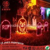 Low Voltage LED Halloween Neon Sign Motif Light in Holiday Decoration for Outdoor Use