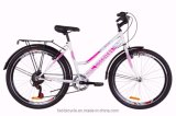 "26"" Steel Frame Mountain Bike MTB for Lady City 6speed OEM"