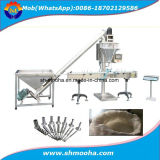 China Semi Automatic Powder Flour Auger Weighing Filling Equipment