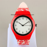 Cheap Plastic Childrens′ Wrist Watch with Client′s Logo Promotional Kids Watch