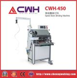Single/Double Wire Coil Cheap Hardcover Spiral Machine