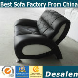 Factory Wholesale Price Office Leather Sofa (811)