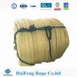 Yellow 12 Strand UHMWPE Rope for ATV, UTV, Mooring, Lifting, Offshore