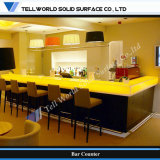 High Quality Acrylic Solid Surface Artificial Marble Bar Table (TW-PACT-008)