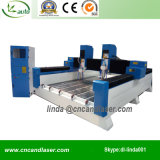 Two Spindle Stone CNC Router/Double Heads 3D CNC Router