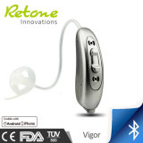 Bluetooth Open Fit Sound Amplifier; Hearing Device for Mild Hearing Loss People