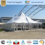 White Peg Pole Marquee Circus Tent for Sale with Clear Walls