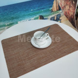 Cheap Eco Friendly Best Heat Resistant Placemats for Wood Table
