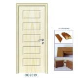 MDF Melamine Finished Doors Cheap Wooden Door