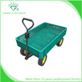 4 Big Wheels Gardens and Farm Tool Cart Plastic Mesh Beach Wagon
