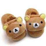 Kids Soft Plush Bear Animal Slippers (GT-09796)