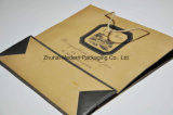 Logo Printed Recycle Cheap Kraft Paper Shopping Gift Packing Bag
