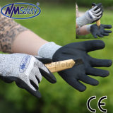 Nmsafety Nitrile Coated Cut Resistant Hand Protection Work Glove