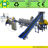 Excellent Quality LDPE Film Recycling Line for Crushing Washing Drying Farm Film with Floating Washer