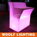 Rechargeable Glow Table Outdoor Garden Bar LED Furniture