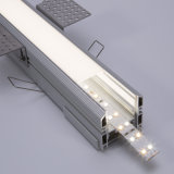 off-The-Shelf Trim Tile Join Aluminium LED Profile Channel Designed to Wall Tiles Kitchens for LED Strip