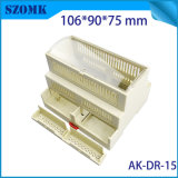 Project Box DIN Rail Case ABS Switch Casing for PCB Board