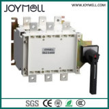 Electrical Dual Power 3p 4p Manual Transfer Switch From 1A to 1600A