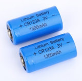 Digital Camera Primary Limno2 Battery 3 Volt Cr 123A Cr123A Cr17345 1500mAh Lithium Battery