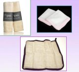 Eco-Friendly Facial Muslin Cloth with Used for Skin Cleaning
