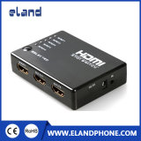 High Quality HDMI 5X1 Switch 5 Input 1 Output HD Switch with Remote Control