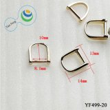 Hot New Products Fashion Shining Zinc Alloy Metal D-Ring Bag Accessories