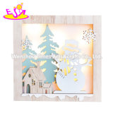2020 Most Popular Wooden Christmas Light Decorations with Customize W09d088