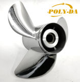 Hot Sales Propeller 50-130 HP 13 1/2X14 Boat Prop Matched YAMAHA Stainless Steel Marine Outboard Propeller RC Boat Propeller