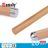 Stainless Steel Wood&PVC Handrail Pipe End Cap/ Round Type End Cover