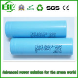 Samsung Cheap Price 2500mAh 3.7V Lithium Ion Battery for Industrial Applications