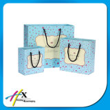 Wholesale Blue Paper Gift Bag for Baby Shower