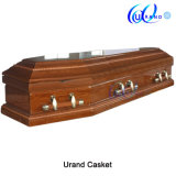 Metal Hardwares Satin Interior Casket and Coffin